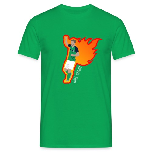 On Fire - Men's T-Shirt