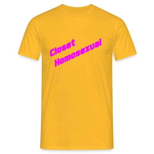 Men's T-Shirt - Closet Homosexual T