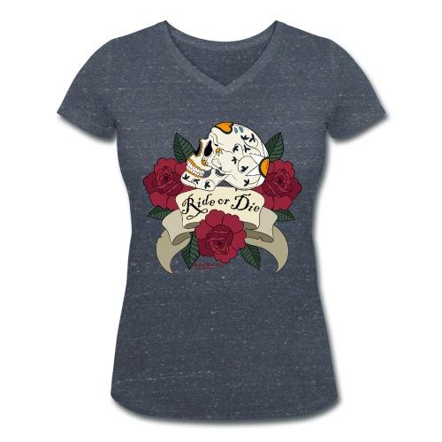 Ride or Die - Frauen Bio-T-Shirt mit V-Ausschnitt von Stanley & Stella