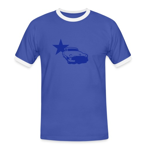 fettomat2 - Männer Kontrast-T-Shirt