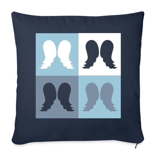 Housse de coussin Déclinaison d'ailes d'ange - Sofa pillowcase 17,3'' x 17,3'' (45 x 45 cm)
