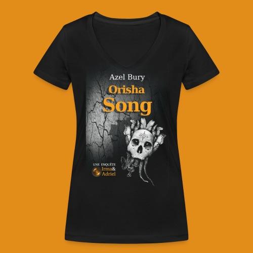 T SHIRT FEMME COL V ORISHA SONG - T-shirt bio col V Stanley & Stella Femme