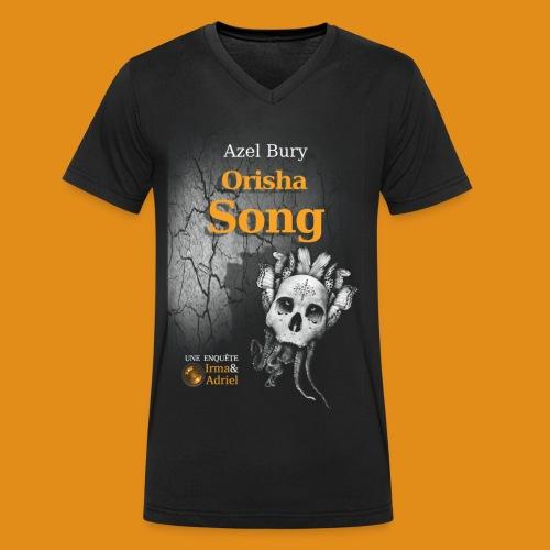 T-SHIRT HOMME ORISHA SONG COL V - T-shirt bio col V Stanley & Stella Homme