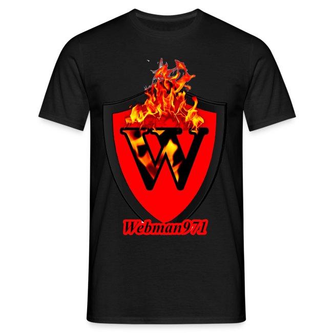 tee-shirt webman971 rouge