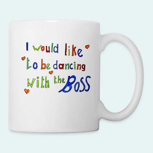 Dancing with the Boss - Tasse