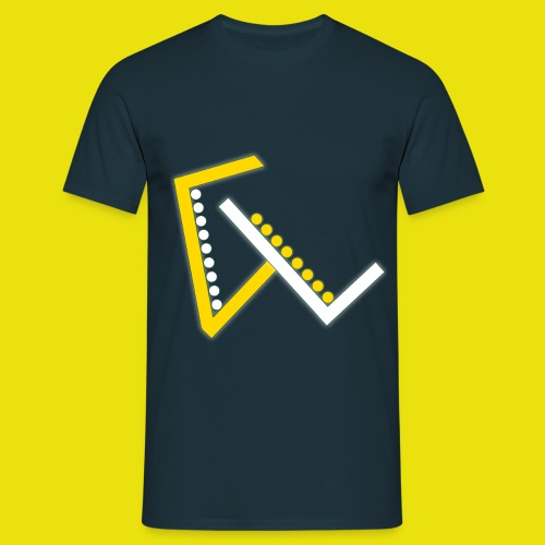 Giulio Laura FX T-Shirt Uomo - Con Logo Centrato - Maglietta da uomo
