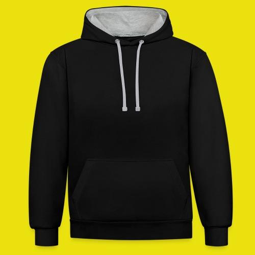 Giulio Laura FX Felpa Uomo/Donna - Logo Posteriore - Felpa con cappuccio bicromatica