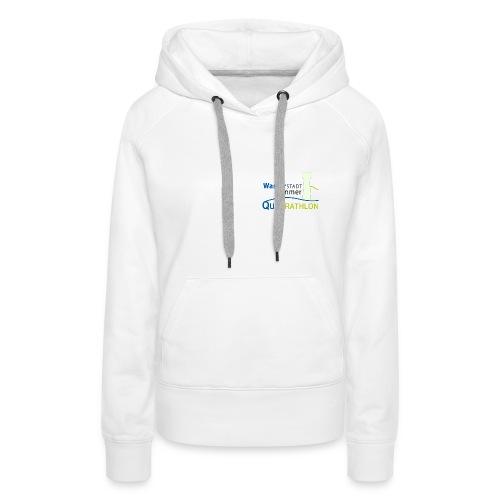 Wasserstadt-Quadrathlon-Hoody - Frauen Premium Hoodie