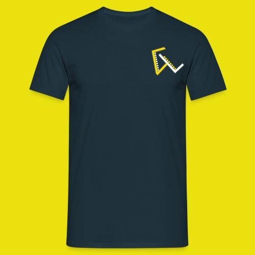 Giulio Laura FX T-Shirt Uomo - Con Logo Ridotto a Sinistra - Maglietta da uomo