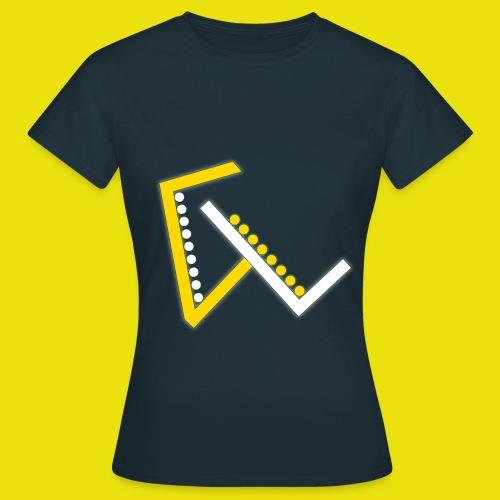 Giulio Laura FX T-Shirt Donna - Con Logo Centrato - Maglietta da donna