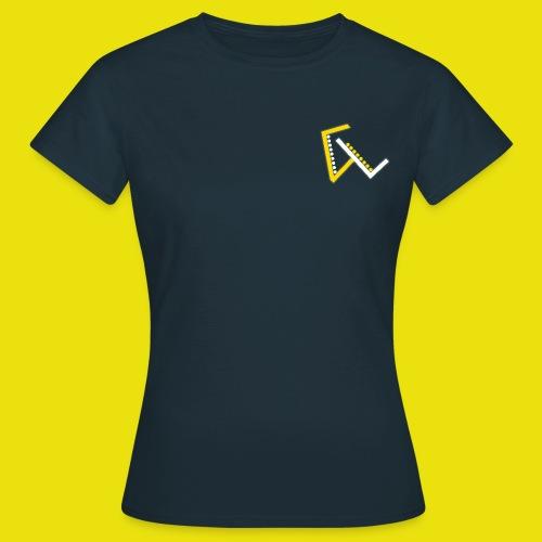 Giulio Laura FX T-Shirt Donna - Con Logo Ridotto a Sinistra - Maglietta da donna
