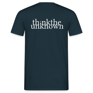 think the unknown - Männer T-Shirt