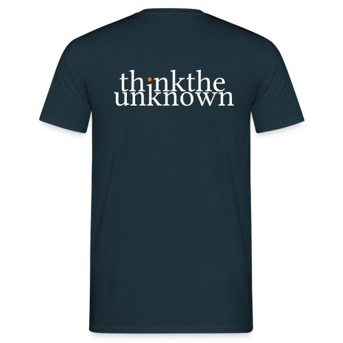 think the unknown - Männer T-Shirt