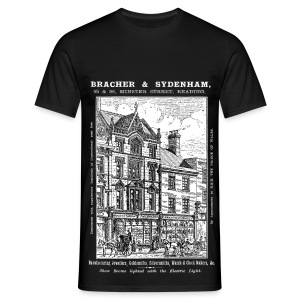 Bracher & Sydenham, Reading (Front) - Men's T-Shirt