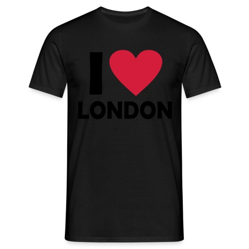 Men's I Love London T-shirt - Men's T-Shirt