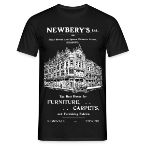 Newbery's Corner, Reading (Front) - Men's T-Shirt