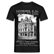 T-Shirts ~ Men's T-Shirt ~ Loveridge Corner, Reading (Front)