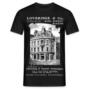 Loveridge Corner, Reading (Front) - Men's T-Shirt
