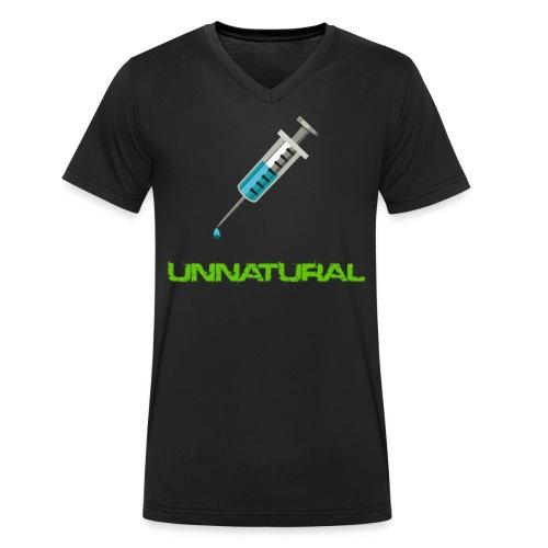 UNNATURAL V-Neck - Männer Bio-T-Shirt mit V-Ausschnitt von Stanley & Stella