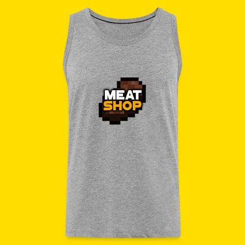 Basic MeatShop Tank Top - Premium singlet for menn