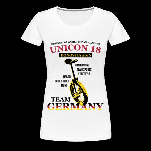 Frauen T-Shirt Spreadshirt - Digital Direktdruck - Frauen Premium T-Shirt