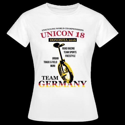 Frauen T-Shirt B&C - Digital Direktdruck - Frauen T-Shirt