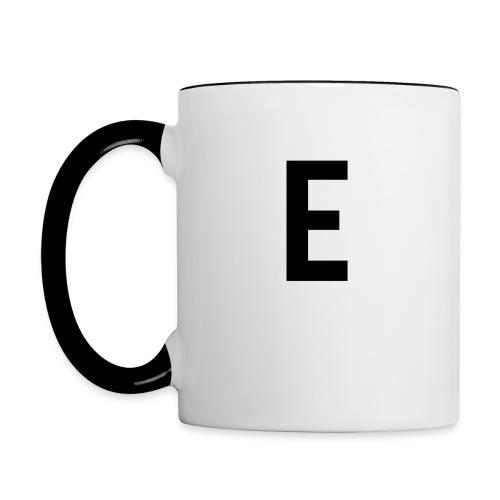 E Mug - Contrasting Mug
