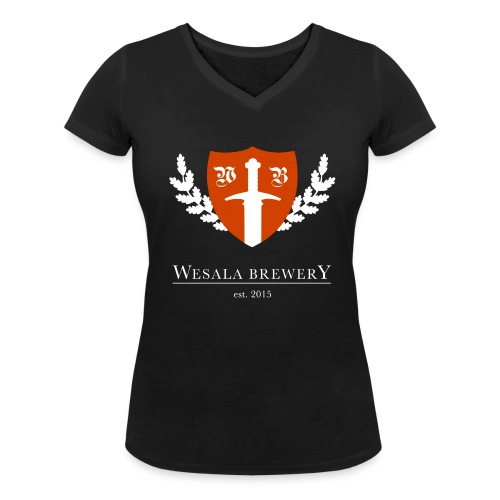 Women's V-neck T-shirt - Women's Organic V-Neck T-Shirt by Stanley & Stella