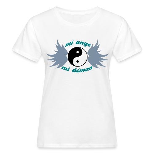 Tee shirt Bio Femme Mi ange Mi démon - Women's Organic T-Shirt