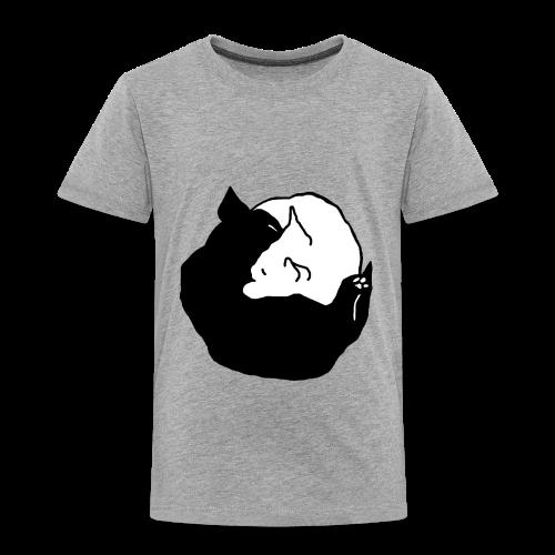 YinYang, Kinder T-Shirt - Kinder Premium T-Shirt