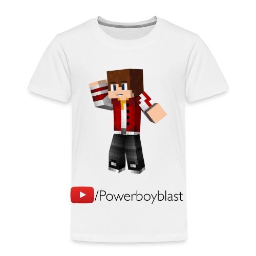 Youtube/Powerboyblast T-Shirt (Kids) - Kids' Premium T-Shirt