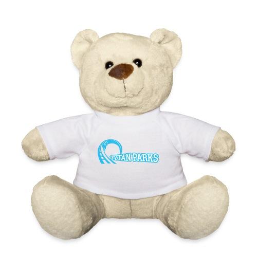 Titan Parks Blue Plushie - Teddy Bear