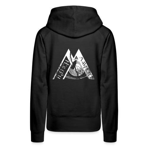 Crow of Mayhem - Sweat-shirt à capuche Premium pour femmes