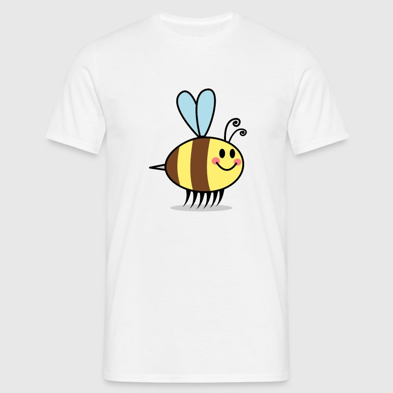Bienen Cartoon Comic Design T-Shirts - Männer T-Shirt