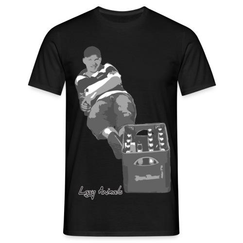 Kasten-Chiller - Männer T-Shirt