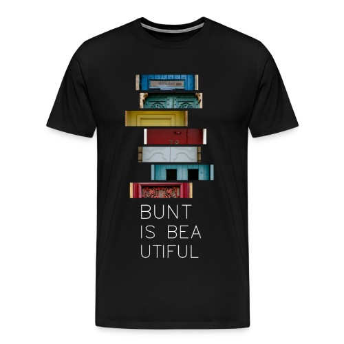T-Shirt Bunt is Beautiful schwarz Männer - Männer Premium T-Shirt