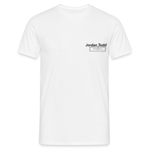 White Jordan Todd Photography Tee - Men's T-Shirt