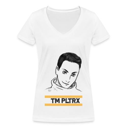 TEAM PLAYTRX | FÜR FRAUEN - Frauen Bio-T-Shirt mit V-Ausschnitt von Stanley & Stella