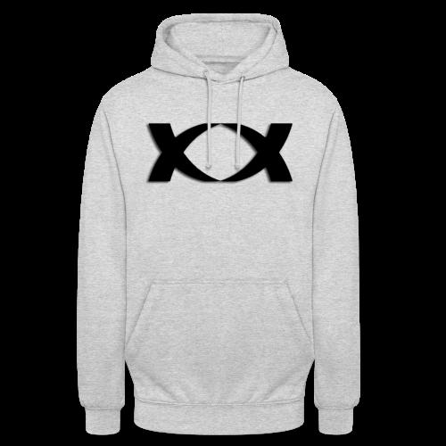 Hantinson Logo Hoodie (Grey) - Unisex Hoodie