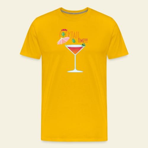 It's Cocktail Time - T-shirt Premium Homme