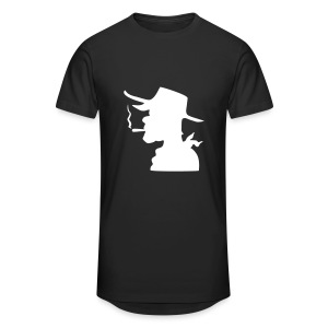 T-Shirt Lucky Luke Noir - T-shirt long Homme