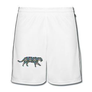 Jaguar Kaleidoscope Design 1 - Men's Football shorts
