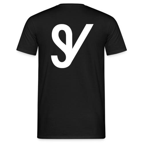 T-shirt SV zwart 1 - Mannen T-shirt