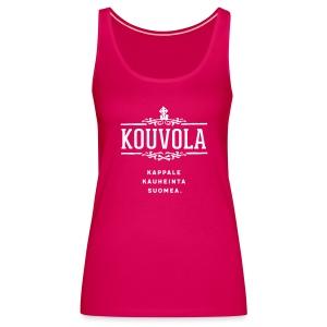 Kouvola - Kappale kauheinta Suomea. - Naisten premium hihaton toppi