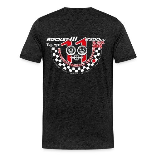 T-Shirt - Anthrazit - Männer Premium T-Shirt