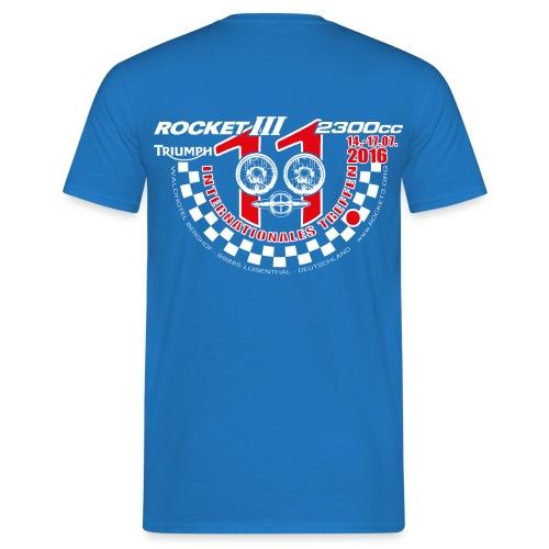 T-Shirt - Royalblau - Männer T-Shirt