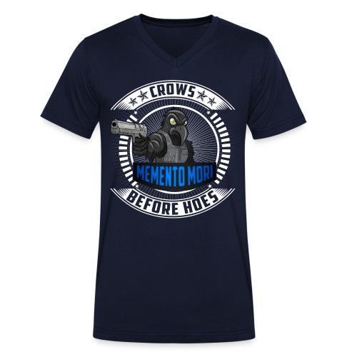Ein echter Hingucker - Männer Bio-T-Shirt mit V-Ausschnitt von Stanley & Stella