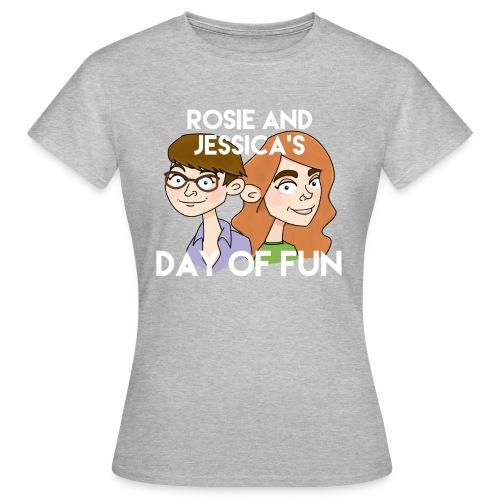 Rosie and Jessica's Day of Fun Women's T-Shirt (Grey) - Women's T-Shirt