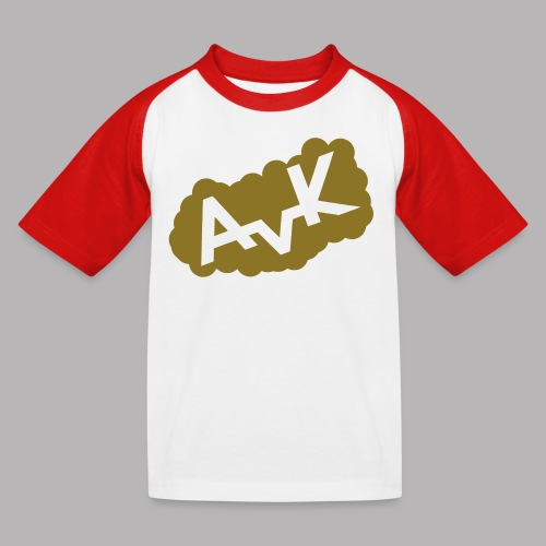 AvK Cloud-Shirt Kids - Kinder Baseball T-Shirt