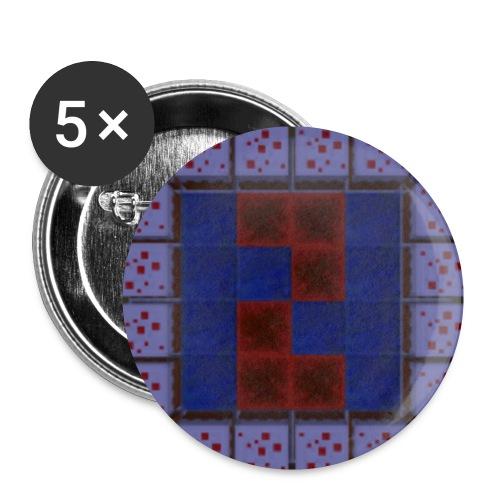 Original NaForce Logo Button - Buttons small 1''/25 mm (5-pack)